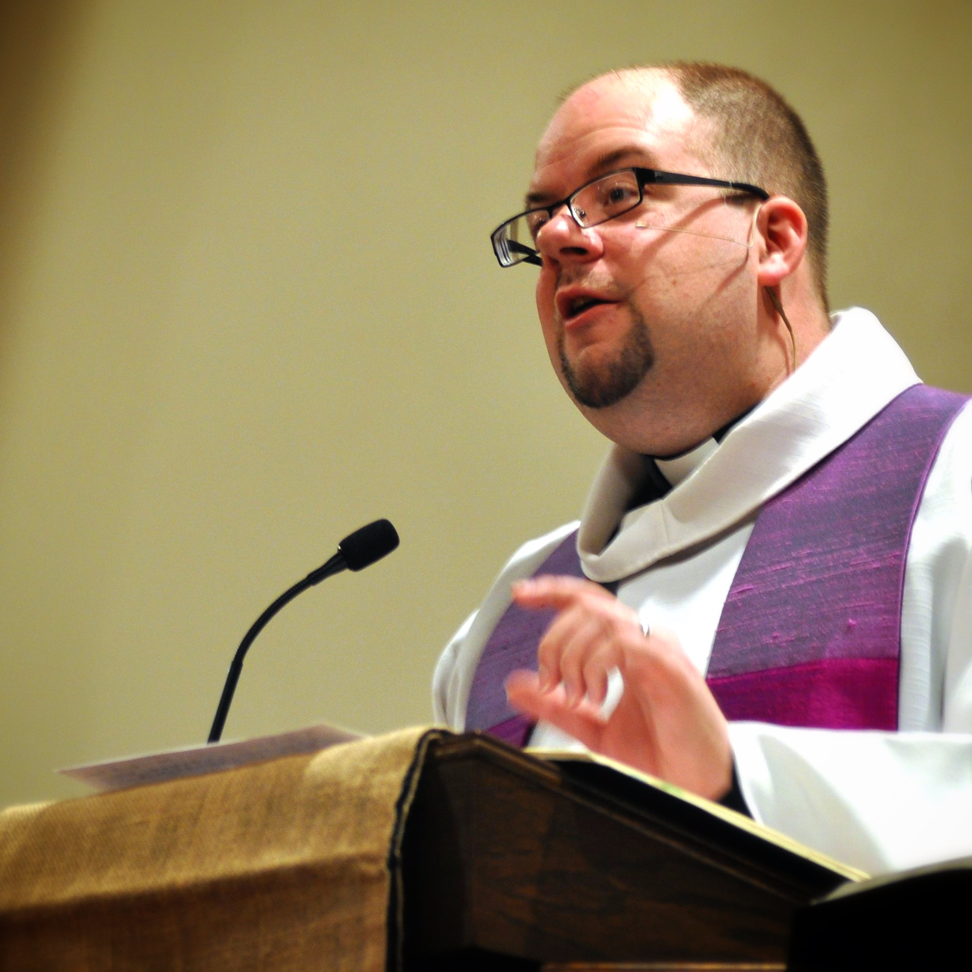 Rev. Josh Hale is the current pastor of First United Methodist Church.